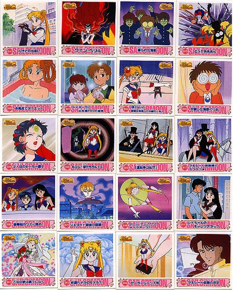 SAILORMOON S CARDDASS CARD REG REGULAR CARTE 307 MADE IN JAPAN 1995 NEUF MINT